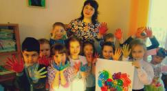 В рамках практики педагогом-практикантом создана творческая мастерская «Радужный кот»